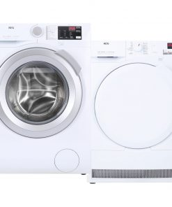 AEG L6FBI86S + AEG T7DB84PK - Wasmachinedeal - laagste prijs