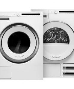 ASKO W2086C.W/2 + ASKO T208H.W - Wasmachinedeal - laagste prijs