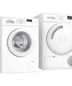 Bosch WAJ28071NL + Bosch WTN83202NL - Wasmachinedeal - laagste prijs