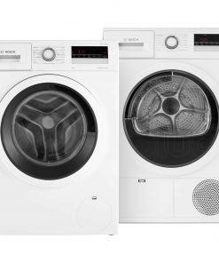 Bosch WAN28275NL + Bosch WTH85V00NL - Wasmachinedeal - laagste prijs