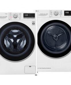 LG F4WN508S0 Direct Drive + LG RC80V9AV4Q - Wasmachinedeal - laagste prijs