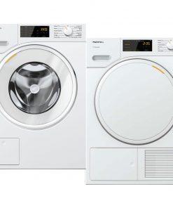 Miele WSD 123 WCS + Miele TSB 143 WP - Wasmachinedeal - laagste prijs