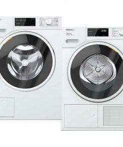 Miele WSG 363 WCS PowerWash 2.0 + Miele TSF 643 WP EcoSpeed - Wasmachinedeal - laagste prijs