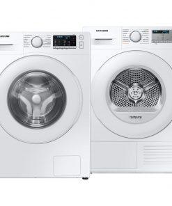 Samsung WW70TA049TE EcoBubble + Samsung DV70TA000TE - Wasmachinedeal - laagste prijs