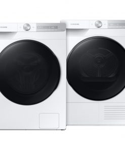 Samsung WW80T734ABH QuickDrive + Samsung DV80T7220BH - Wasmachinedeal - laagste prijs