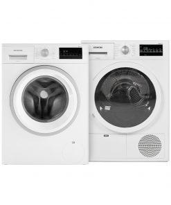 Siemens WM14N205NL + Siemens WT46G472NL - Wasmachinedeal - laagste prijs