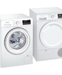 Siemens WM14N275NL + Siemens WT43N272NL - Wasmachinedeal - laagste prijs