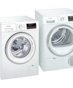 Siemens WM14N275NL + Siemens WT45HV00NL - Wasmachinedeal - laagste prijs