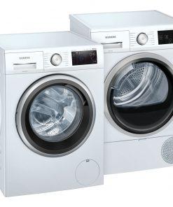 Siemens WM14UP70NL + Siemens WT7U4600NL - Wasmachinedeal - laagste prijs