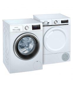 Siemens WM14UP70NL intelligentDosing + Siemens WT8HXM50NL - Wasmachinedeal - laagste prijs